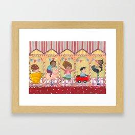 Calesita Framed Art Print