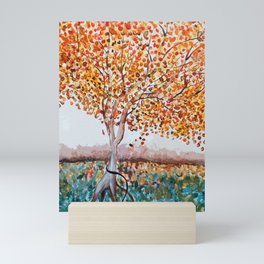 Standing Alone Tree Mini Art Print