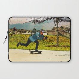 Movie Moves - Skateboarder Laptop Sleeve