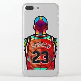 Jordan Clear iPhone Case