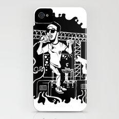 Man on the moon iPhone (4, 4s) Slim Case