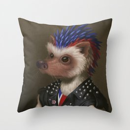 The Hedgehog Throw Pillow