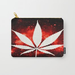 Weed : High Times Red Galaxy Carry-All Pouch