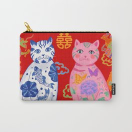 Double Happiness: When Ming Meets Qing Carry-All Pouch
