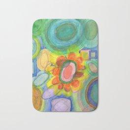 A closer Look at the Flower  Universe Bath Mat