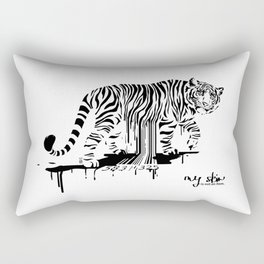 Tiger Skin Rectangular Pillow