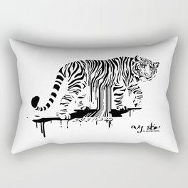 Tiger Skin Rectangular Pillow