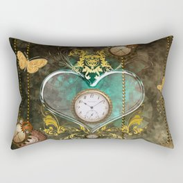 Steampunk, noble design Rectangular Pillow