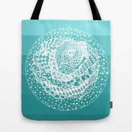 Flying Rose Tote Bag