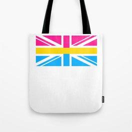 Pansexual UK Flag design LGBTQ Pride Gift Idea Tote Bag