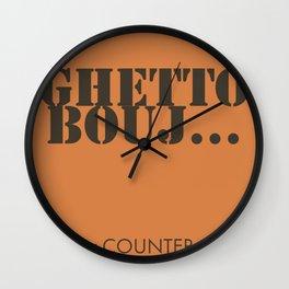 Counter Counter - Ghetto Bouj Wall Clock