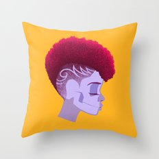 See Through Girl 5 Throw Pillow
