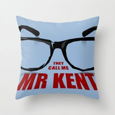 Mr Kent Throw Pillow