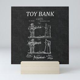 Toy Bank Patent 12 Mini Art Print
