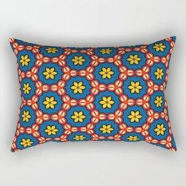 Juicy Flowers Rectangular Pillow