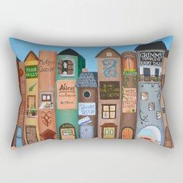 Wee Folk Lane Rectangular Pillow