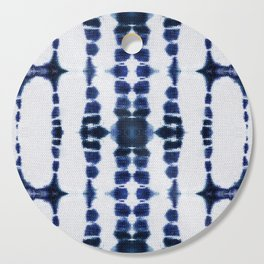Boho Tie-Dye Knit Vertical Cutting Board