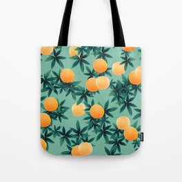 Orange Twist Vibes #1 #tropical #fruit #decor #art #society6 Tote Bag