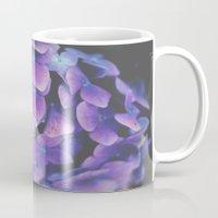 hydrangea Mugs featuring Hydrangea by Christine Hall