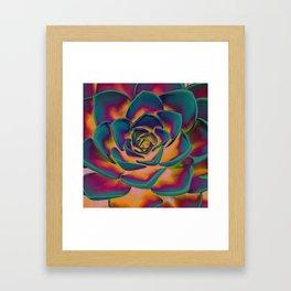 """Exotic Succulent Pop Art"" Framed Art Print"
