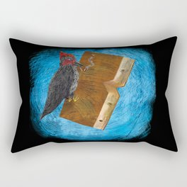 Bookpecker Rectangular Pillow