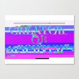 Creador Canvas Print