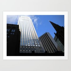 Midtown at Midday Art Print