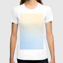 BLIND FAZE - Minimal Plain Soft Mood Color Blend Prints T-shirt