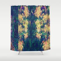 scandal Shower Curtains featuring Remedy with consequences by Alix Rumble