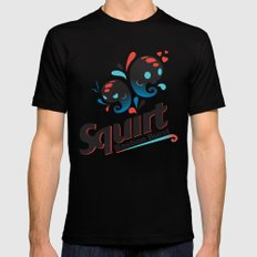 Squirt LARGE Black Mens Fitted Tee