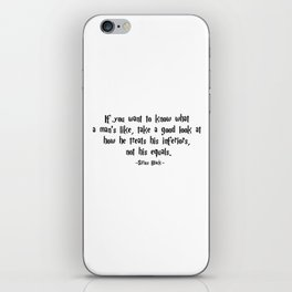 Sirius Black - Not his equals quote - HarryPotter iPhone Skin