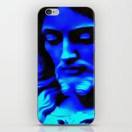 Blue Jesus iPhone Skin