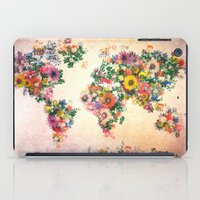 map of the world iPad Cases featuring world map by Bekim ART