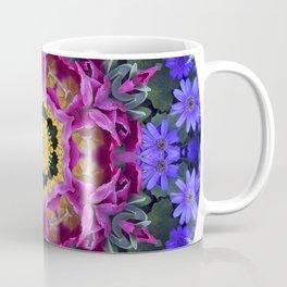 Floral finery - vivid kaleidoscope 20170321_135334 e k1 Coffee Mug