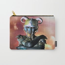 Devil Eye metal mask girl Carry-All Pouch