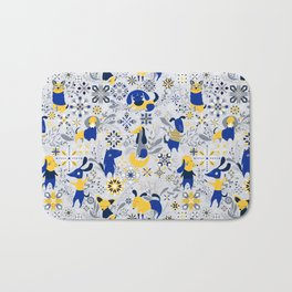 Happy Dog Year Bath Mat