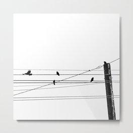 GET IN - GET OUT Metal Print
