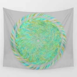 Magnetically Woven Mandala #1 Astronomy Print Science Print Wall Art Wall Tapestry