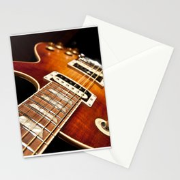 Sunburst Electric Guitar Stationery Cards