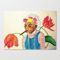 cuba Canvas Prints featuring Cuba by Ela Caglar
