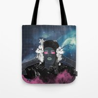charli xcx Tote Bags featuring CHARLI XCX by Lucas Eme A