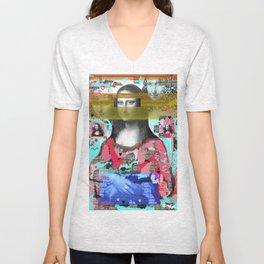 My Mona Unisex V-Neck