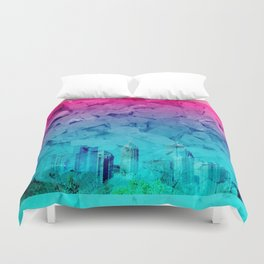 atl purification. Duvet Cover