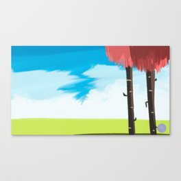 Coral Trees Canvas Print