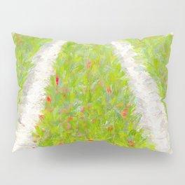 Tulip field in Normandy Pillow Sham