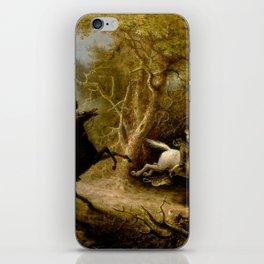 John Quidor Legend of Sleepy Hollow Headless Horseman Pursuing Ichabod Crane 1858 iPhone Skin