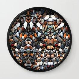Stone multicolored Wall Clock
