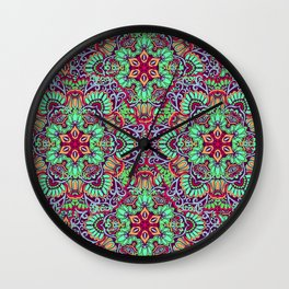 Kaitlyn Mandalas Wall Clock