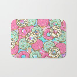 Sweet Donuts Cookies Bath Mat