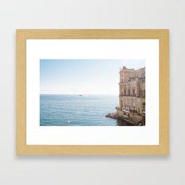Donn'Anna Palace Framed Art Print